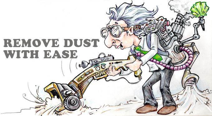remove dust with ease