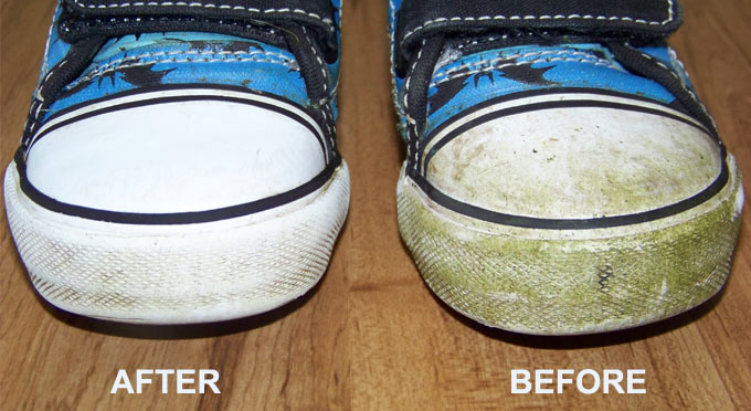 How to remove grass stains out of shoes style guru How to get stains out of white leather