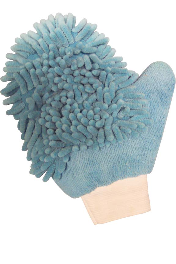 paw cleaning mitt