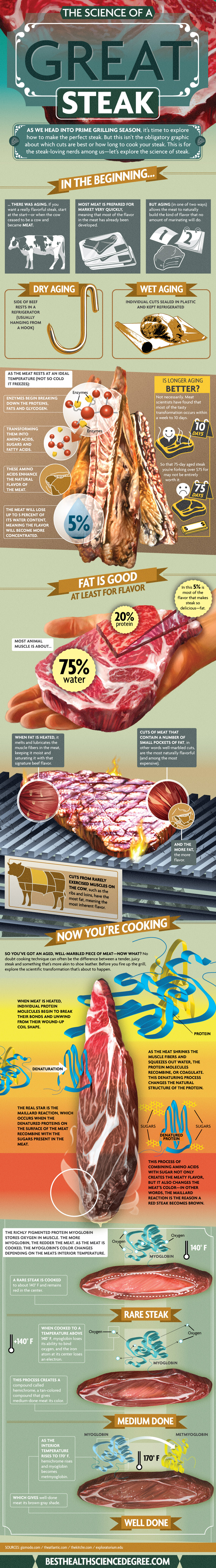 A Scientific Approach To Great Tasting Steaks On The Grill
