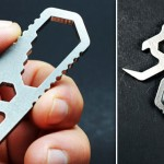 A Mini Wrench And Multi-Tool That's Also A Keychain