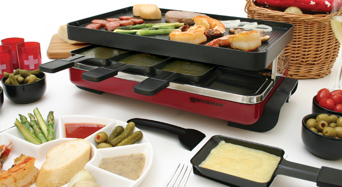 How to use a raclette grill