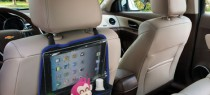 organize back seat of car