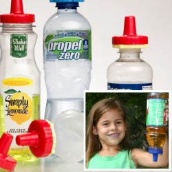 Make Any Bottled Beverage Spill Proof